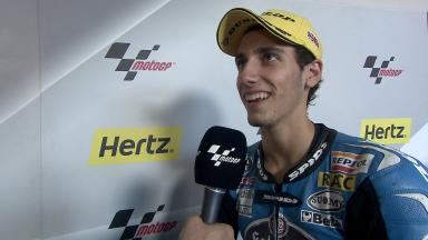 Silverstone 2014 - Moto3 - RACE - Interview - Alex Rins