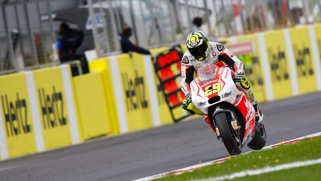 Andrea Iannone, Pramac Racing, GBR RACE