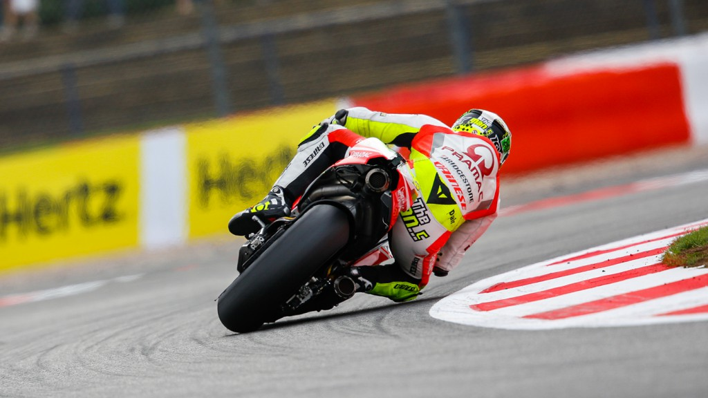Andrea Iannone, Pramac Racing, GBR WUP