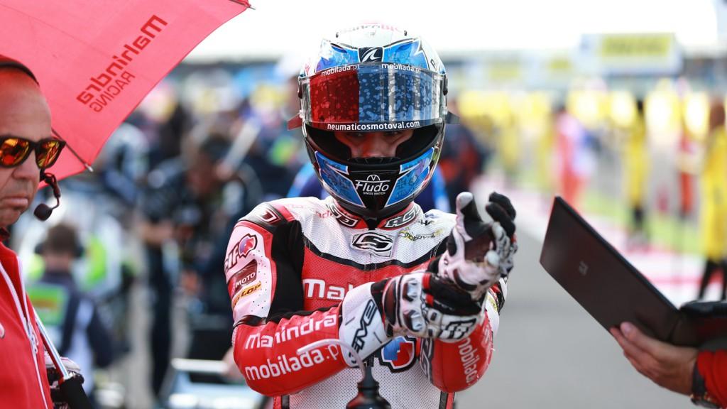 Miguel Oliveira, Mahindra Racing, GBR RACE