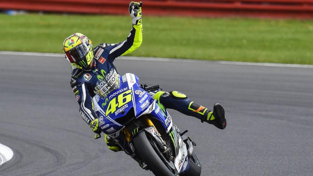 Valentino Rossi, Movistar Yamaha MotoGP, GBR RACE