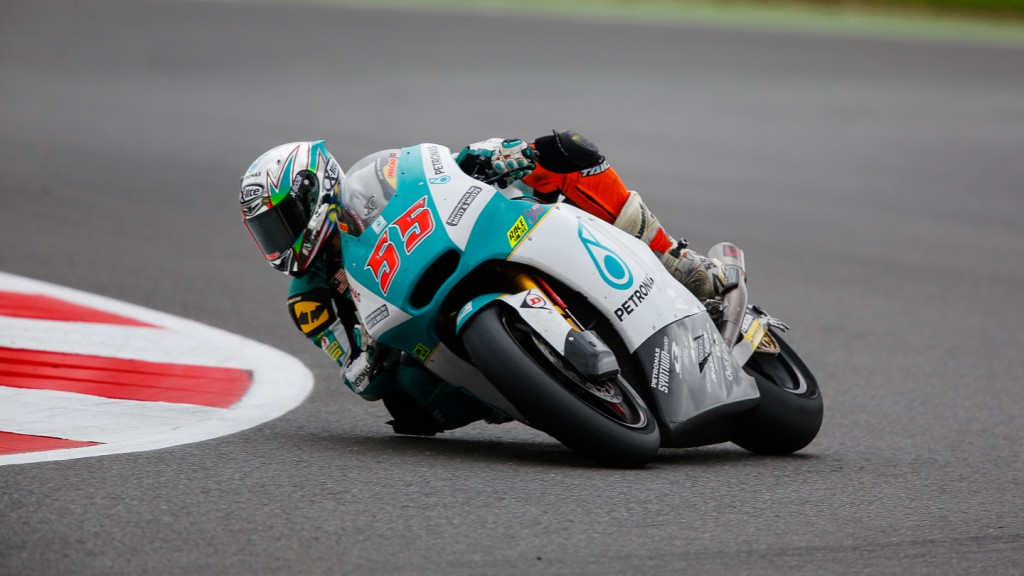 Hafizh Syahrin, Petronas Raceline Malaysia, GBR RACE