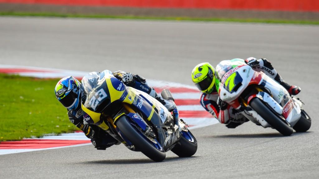 Marcel Schrotter, Lorenzo Baldassarri, Tech 3, Gresini Moto2, GBR RACE