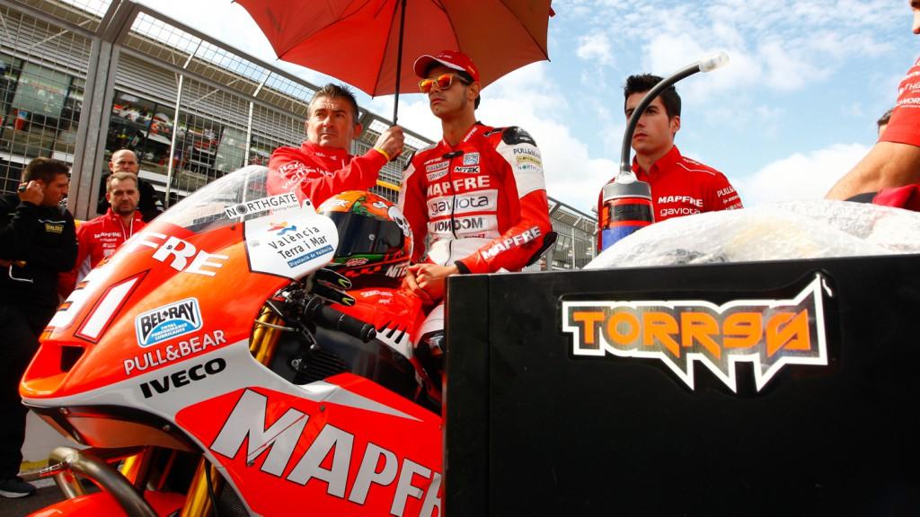 Jordi Torres, Mapfre Aspar Team Moto2, GBR RACE