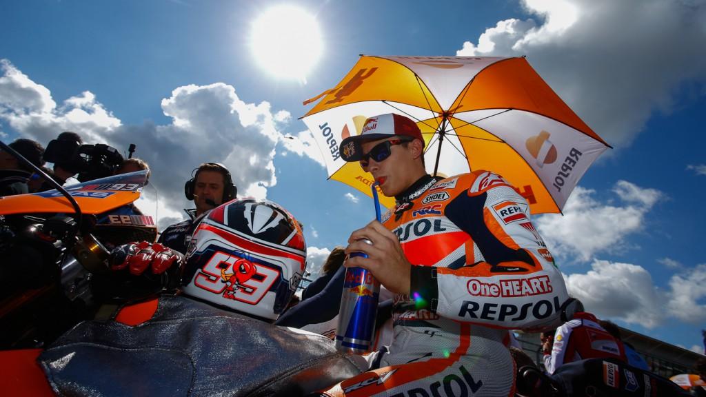Marc Marquez, Repsol Honda Team, GBR RACE