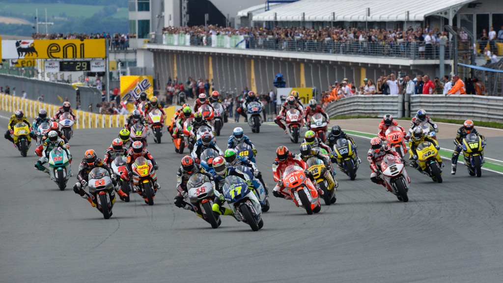 Moto2 Action, GER RACE