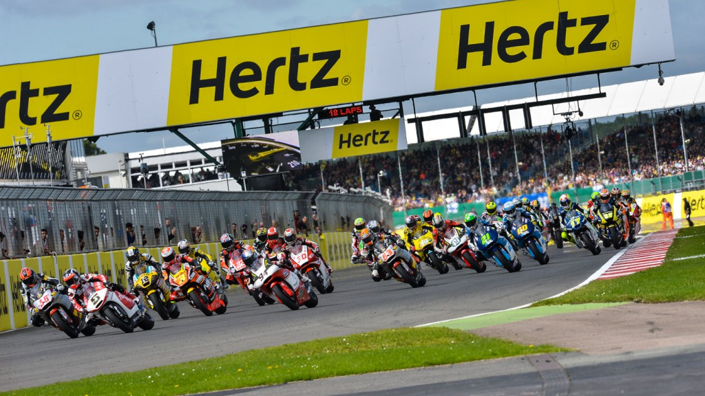 Moto2 Race Start, GBR RACE