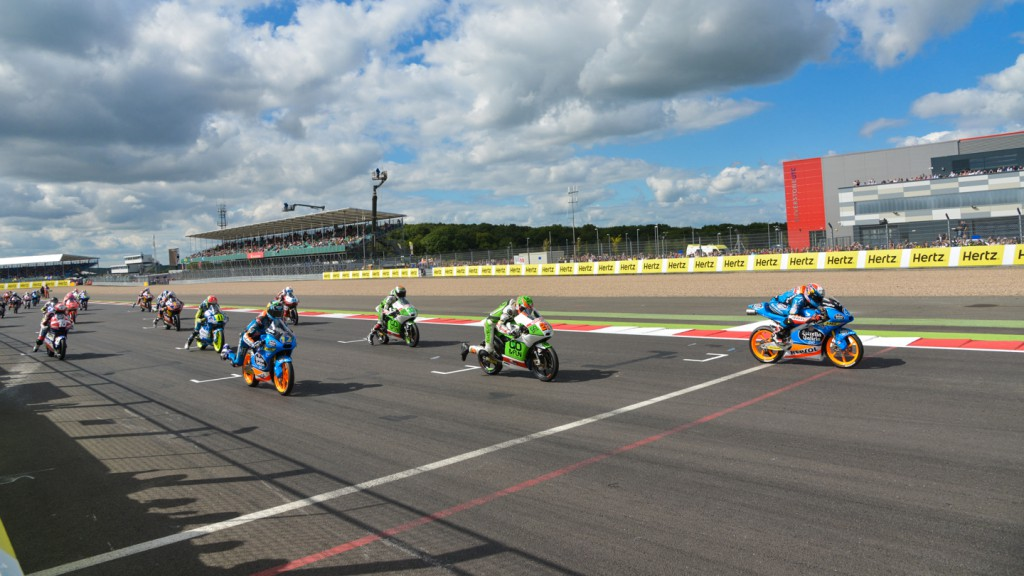 Moto3 Race Start, GBR RACE