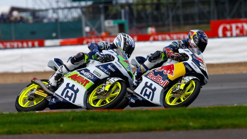 Niklas Ajo, Danny Kent, Avant Tecno Husqvarna Ajo, Red Bull Husqvarna Ajo, GBR RACE
