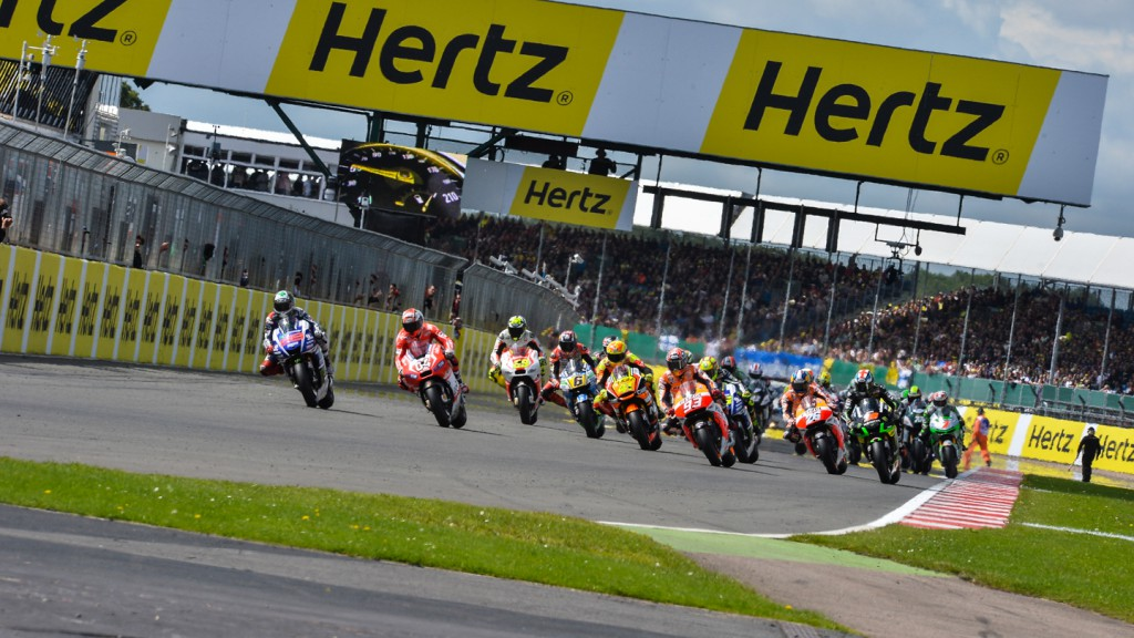 MotoGP Race Start, GBR RACE