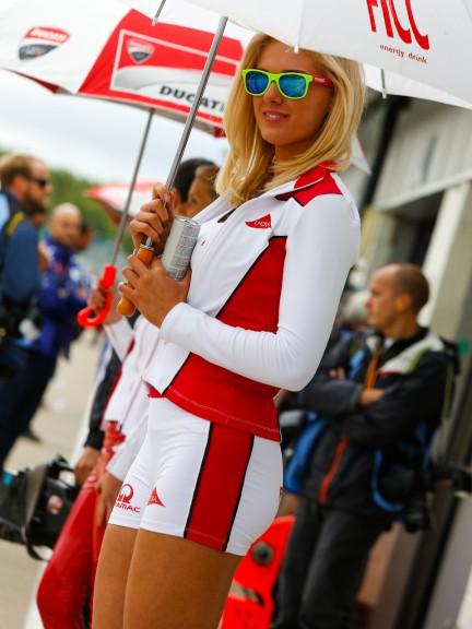 Paddock Girls, Hertz British Grand Prix