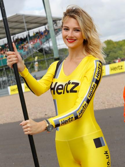 Paddock Girls, Hertz BritishGrand Prix
