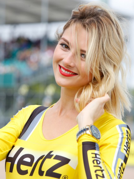 Paddock Girls, Hertz British Grand Prix