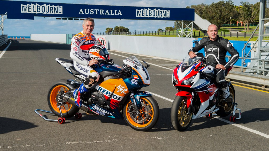 Michael Doohan and Daryl Beattie, Phillip Island Circuit