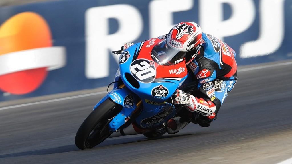 Fabio Quartararo, Estrella Galicia 0,0, FIM CEV Repsol, Moto3 Navarra race