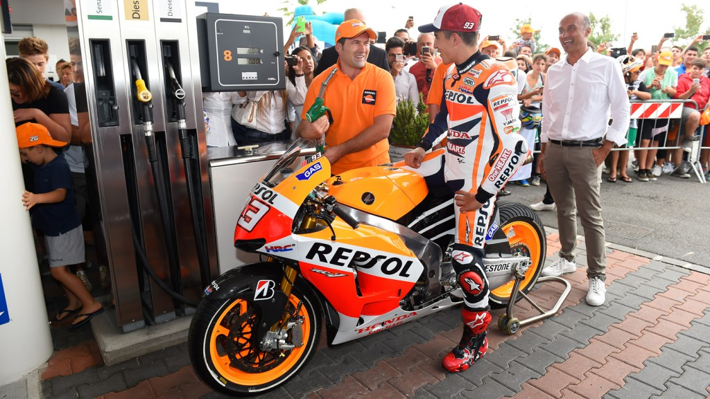 Marc Marquez, Repsol Honda Team, at Rimini