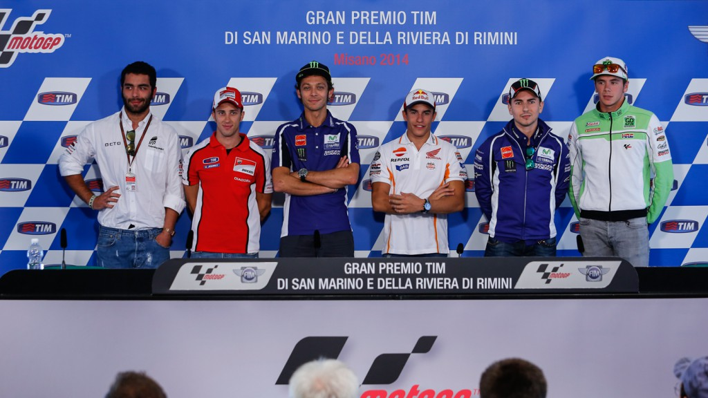 GP TIM di San Marino e della Riviera di Rimini Press conference