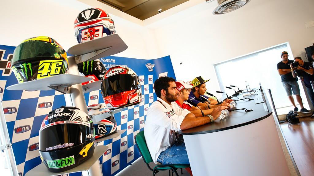 GP TIM di San Marino e della Riviera di Rimini Press conference