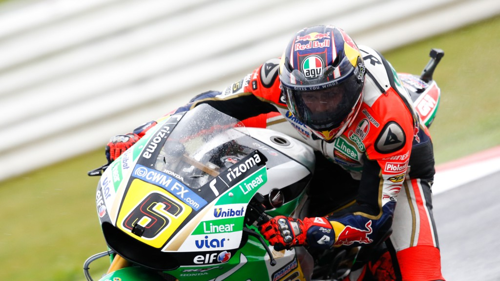 Stefan Bradl, LCR Honda MotoGP, RSM FP2