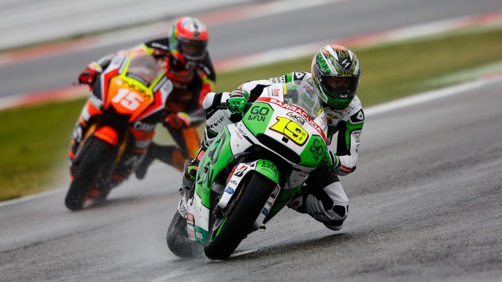 Alvaro Bautista, Alex De Angelis, GO&FUN Honda Gresini, NGM Forward Racing, RSM FP2