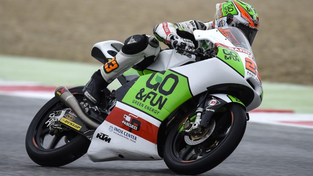 Niccolò Antonelli, Junior Team GO&FUN Moto3, RSM FP2