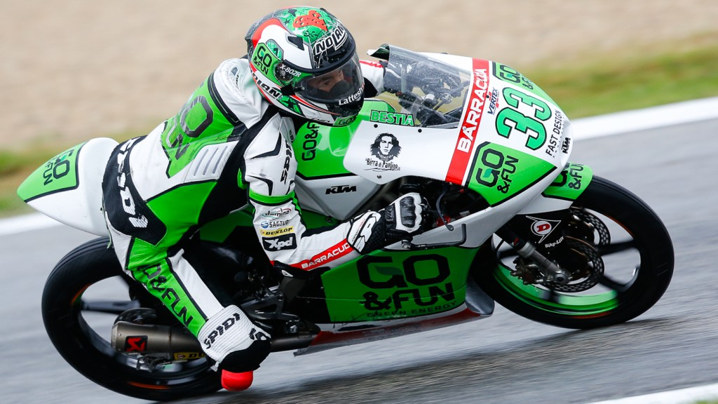 Enea Bastianini, Junior Team GO&FUN Moto3, RSM FP2