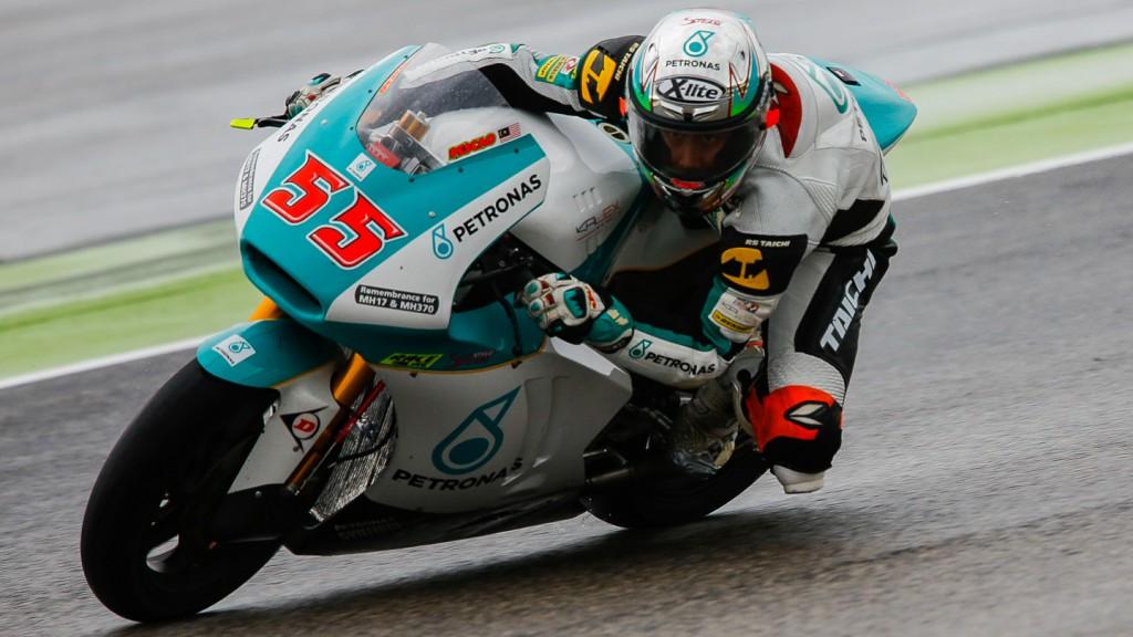 Hafizh Syahrin, Petronas Raceline Malaysia, RSM FP2