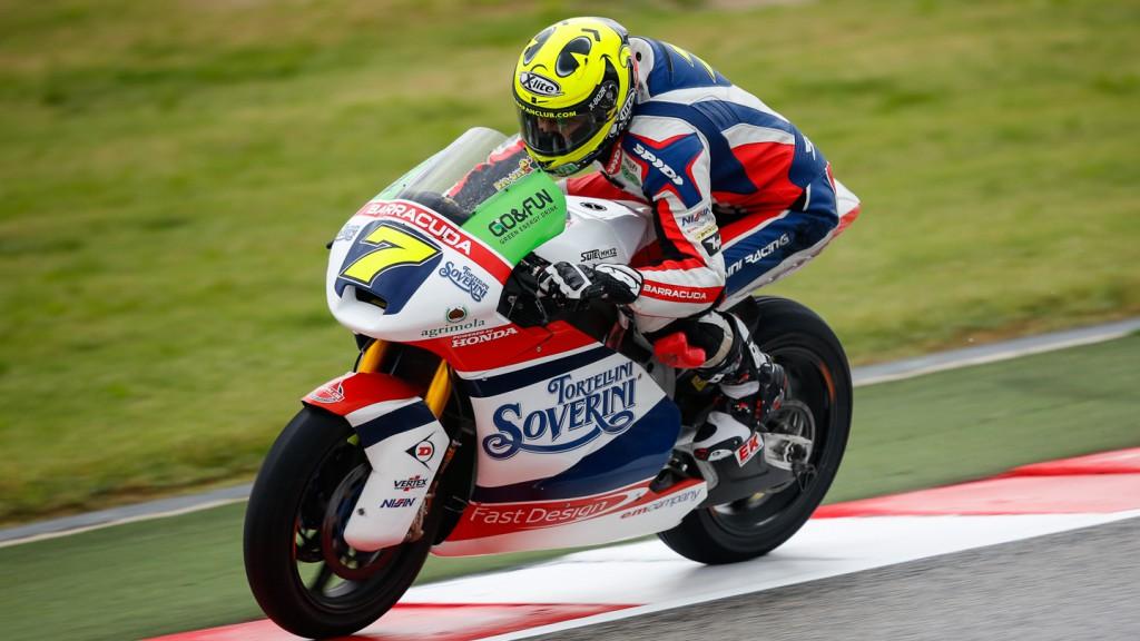 Lorenzo Baldassarri, Gresini Moto2, RSM FP2