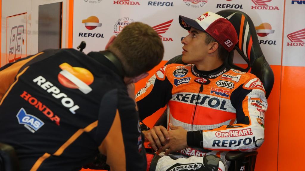Marc Marquez, Repsol Honda Team, RSM FP2