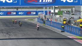 Il finlandese del Marc VDS Racing centra la sua terza pole position stagionale davanti al proprio compagno di squadra Tito Rabat e allo svizzero Tom Luthi.