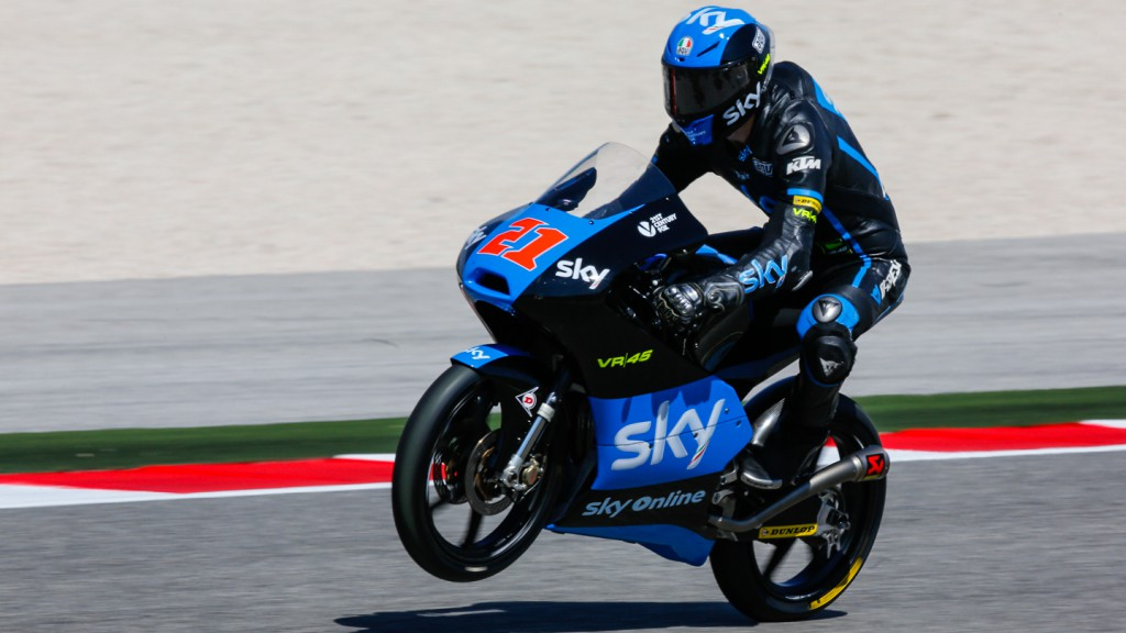 Francesco Bagnaia, SKY Racing Team  VR46, RSM QP