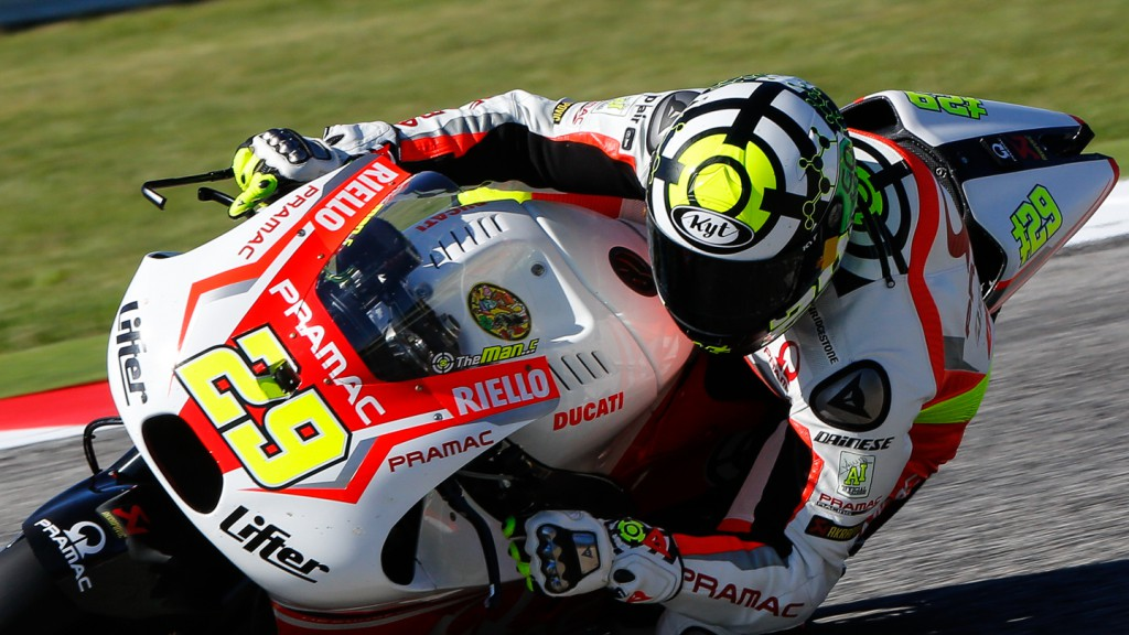 Andrea Iannone, Pramac Racing, RSM FP3