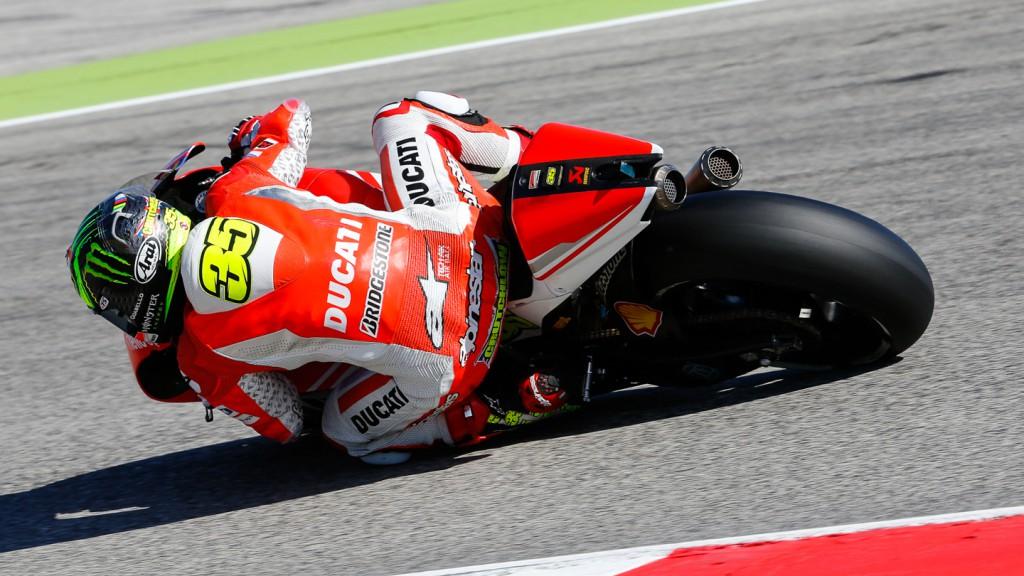 Cal Crutchlow, Ducati Team, RSM Q1