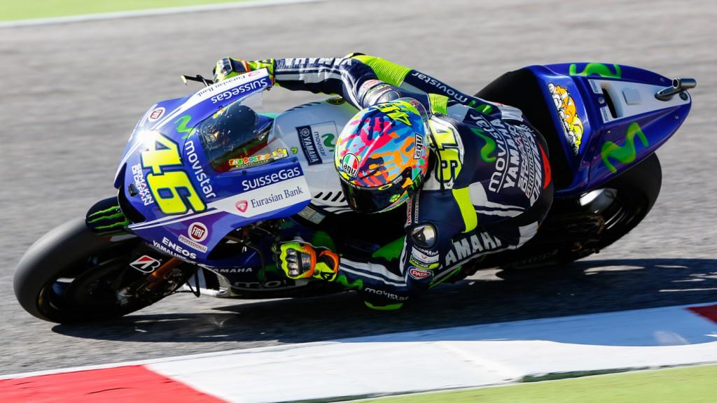 Valentino Rossi, Movistar Yamaha MotoGP, RSM Q2