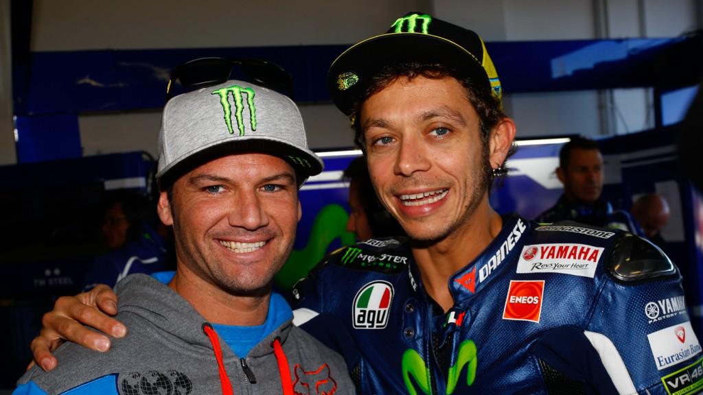 Chad Reed & Valentino Rossi, Movistar Yamaha MotoGP, RSM FP3