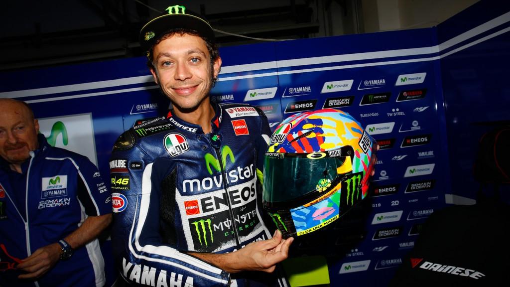 Valentino Rossi, Movistar Yamaha MotoGP, RSM FP3