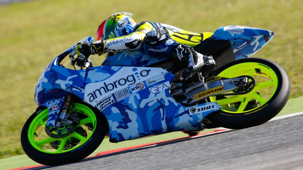 Brad Binder, Ambrogio Racing, RSM QP