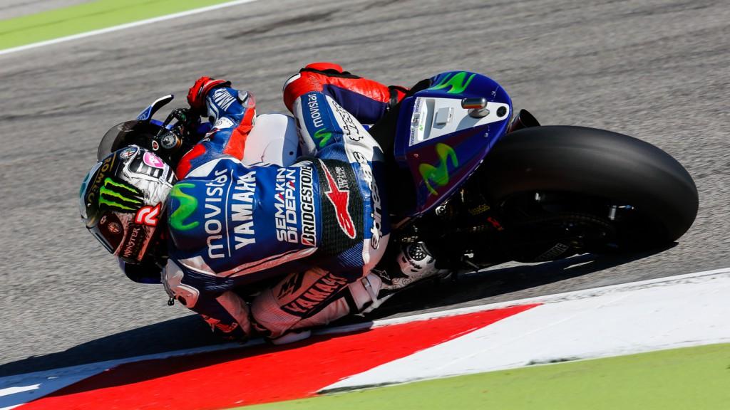 Jorge Lorenzo, Movistar Yamaha MotoGP, RSM FP3