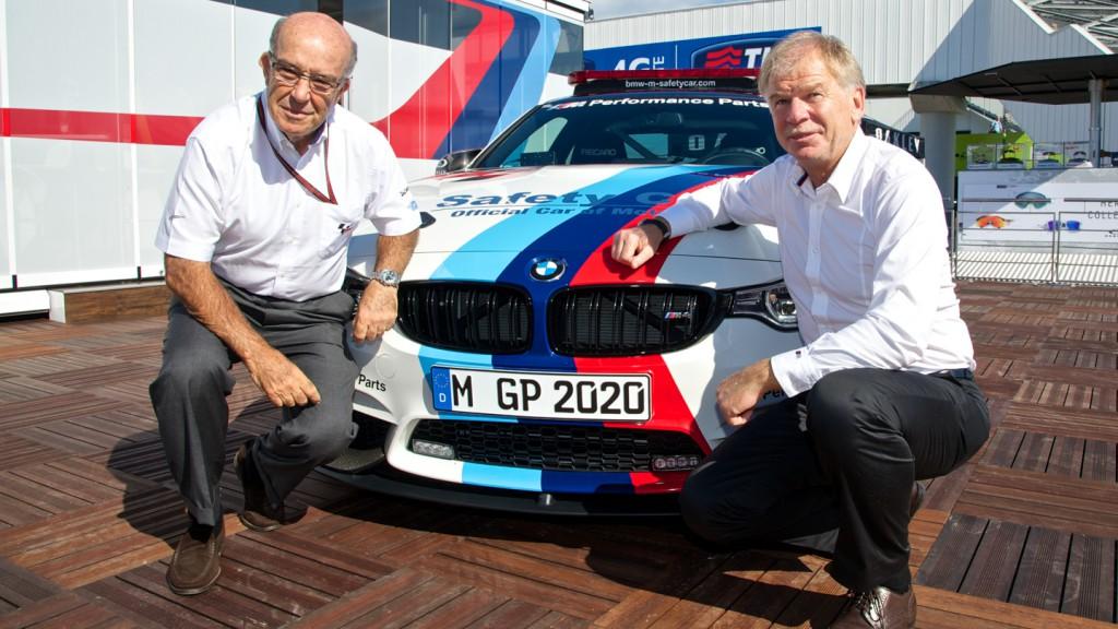 Dorna CEO Carmelo Ezpeleta & Dr. Friedrich Nitschke, CEO of BMW M GmbH