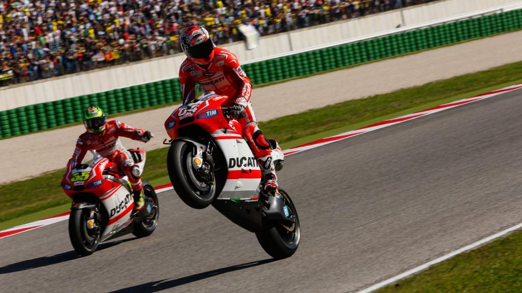 Andrea Dovizioso, Cal Crutchlow, Ducati Team, RSM