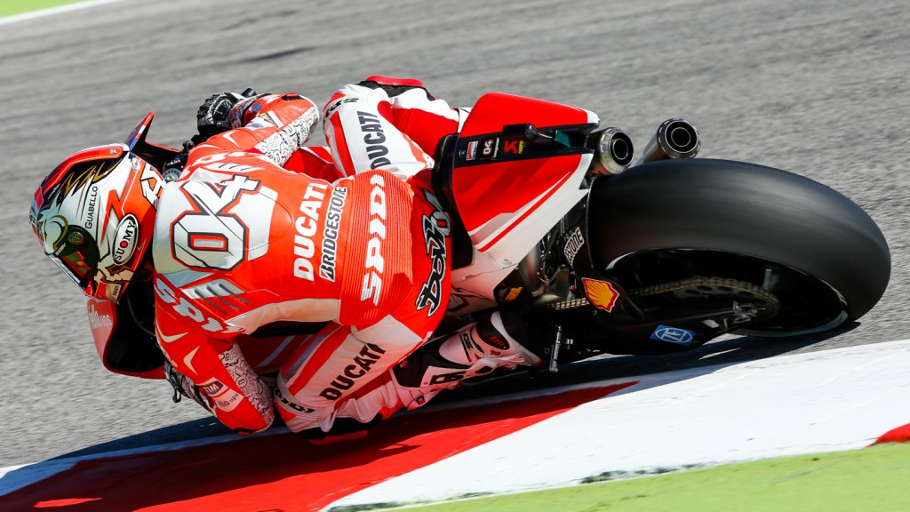Andrea Dovizioso, Ducati Team, RSM WUP