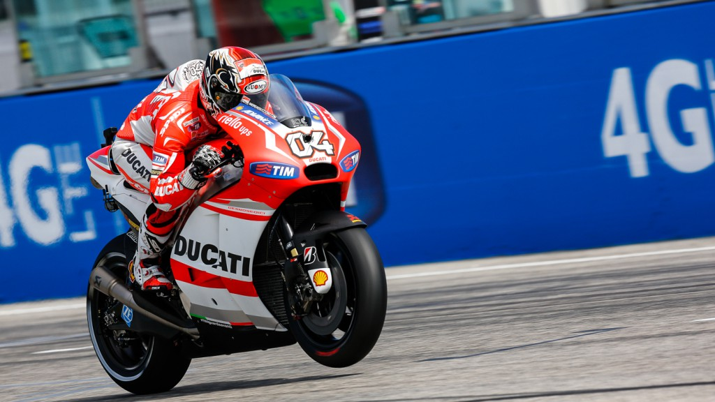 Andrea Dovizioso, Ducati Team, RSM RACE