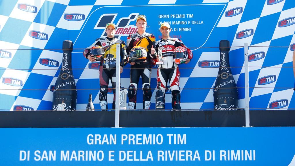 Moto2 Podium, RSM RACE