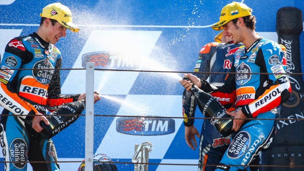 Alex Marquez, Alex Rins, Repsol Honda Team, Estrella Galicia 0,0, RSM RACE