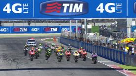 The home crowd went wild at Misano on Sunday as Valentino Rossi took his first victory since Assen last year, with Jorge Lorenzo and Dani Pedrosa also on the podium, whilst Marc Marquez finished 15th after a crash.