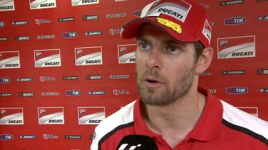 Crutchlow 'quite disappointed' with Misano race pace