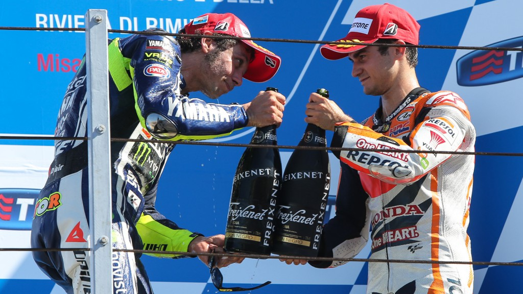 Dani Pedrosa, Valentino Rossi, Movistar Yamaha MotoGP, Repsol Honda Team, RSM RACE
