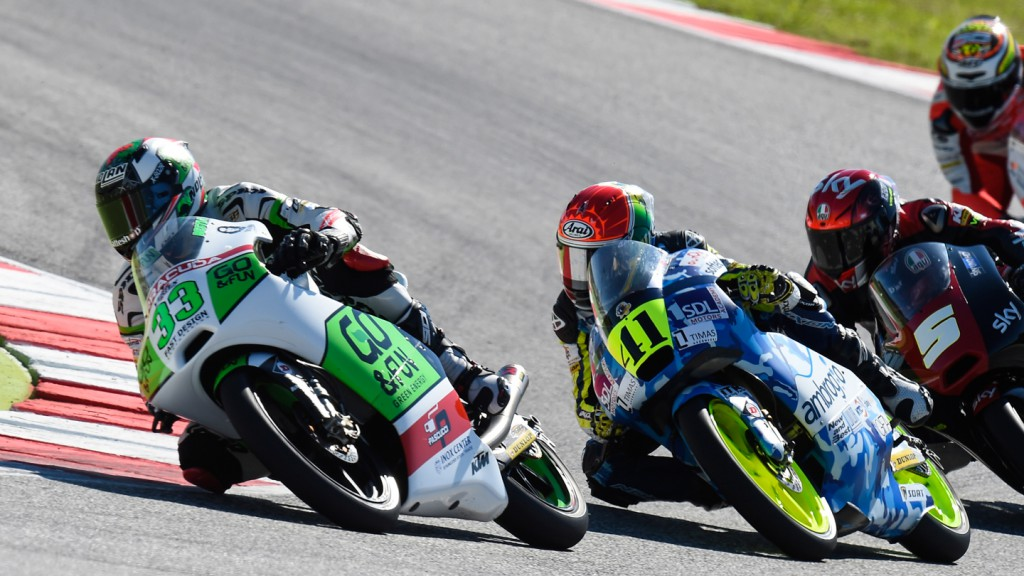 Enea Bastianini, Junior Team GO&FUN Moto3, RSM RACE