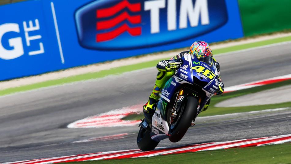 motogp.com · Valentino Rossi, Movistar Yamaha MotoGP, RSM RACE