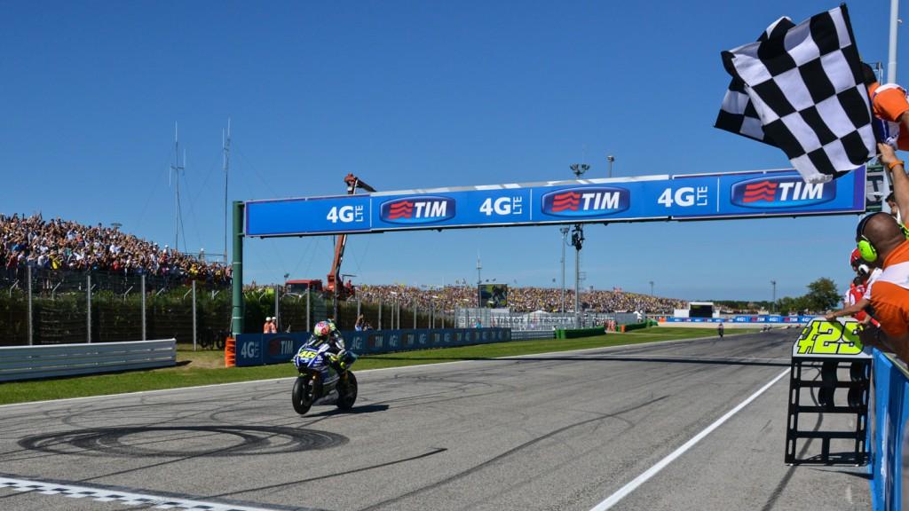 Valentino Rossi, Movistar Yamaha MotoGP, RSM RACE